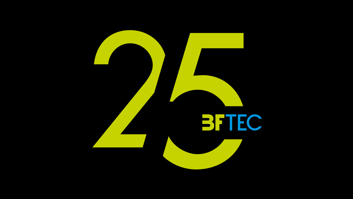 25 Years BFtec GmbH