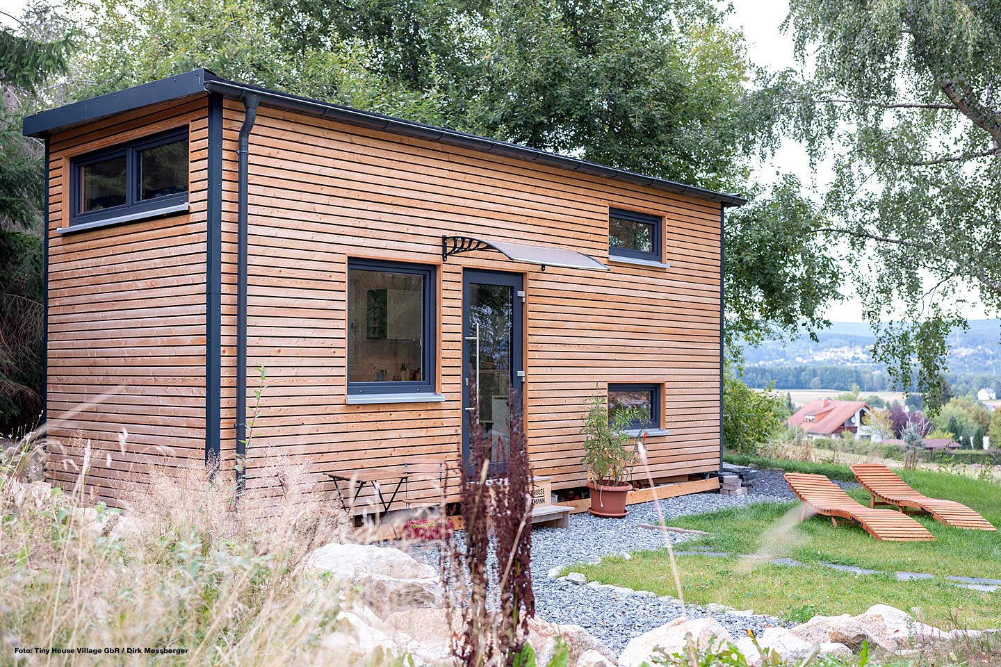 STEELROOTS® als Fundament für Tiny Houses